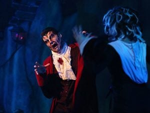 Storytelling choices in performance DRACULA